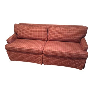 Red Avery Boardman Couch