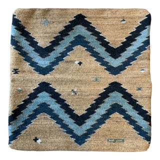Handmade Turkish Rug Pillow Cover- 22x22 For Sale