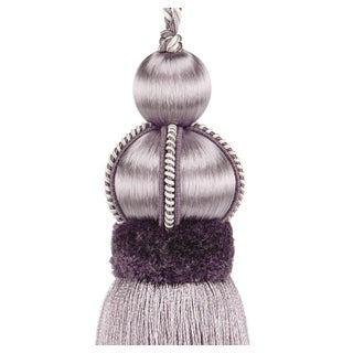 """Wisteria Key Tassel With Cut Ruche - Tassel Height - 5.75"""" Preview"""