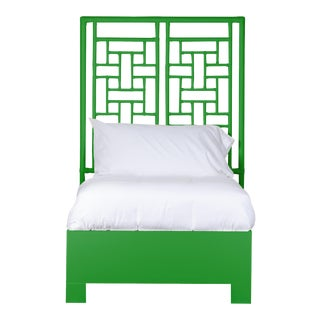 Ohana Bed Twin Extra Long - Bright Green For Sale