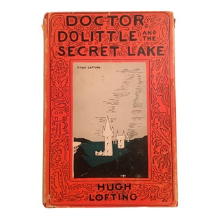 Doctor Doolittle and the Secret Lake, 2nd Impression, Illustrated Book For Sale