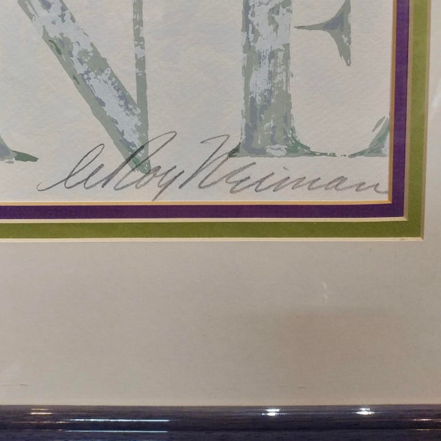 Leroy Neiman -Al Capone-Limited Edition Serigraph-Pencil Signed - Image 6 of 10