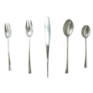 Tjorn Sterling Silverware by Jens Quistgaard for Dansk, Germany For Sale