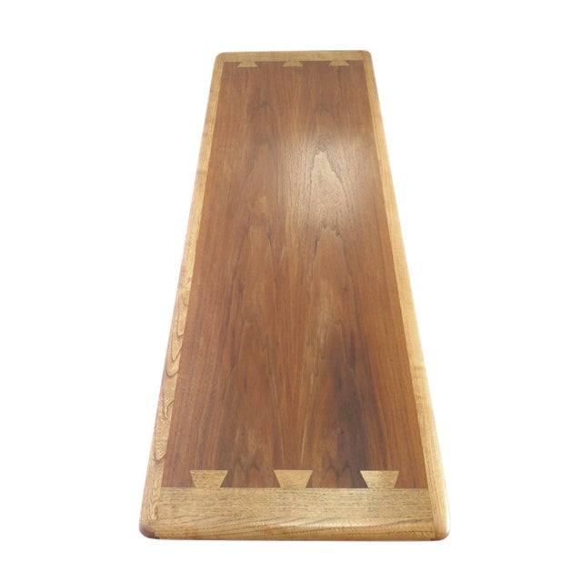 Mid-Century Ash and Walnut Coffee Table by Lane - Image 5 of 9