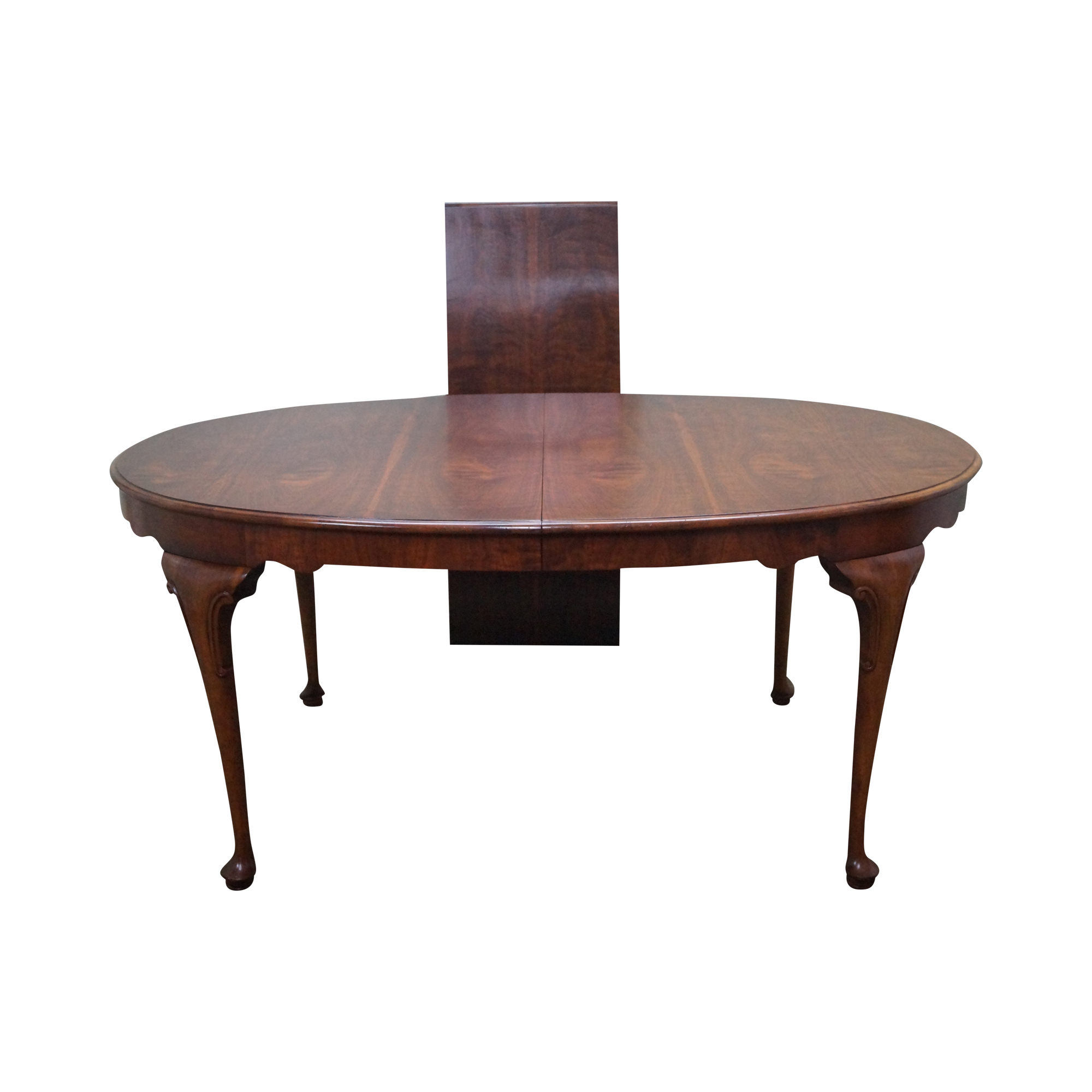queen anne dining table dining room baker milling road walnut queen anne dining table chairish