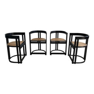 Vermont Tubbs Cane Dining Chairs - Set of 4 For Sale