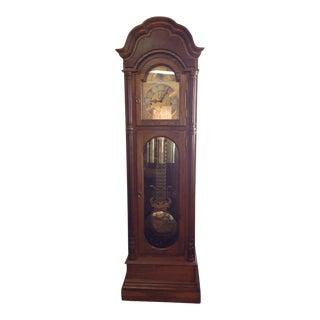 1980s Vintage Seth Thomas Grandfather Clock For Sale