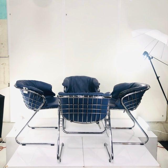 1960s Vintage Italian Gastone Rinaldi Chairs - Set of 4 For Sale - Image 13 of 13
