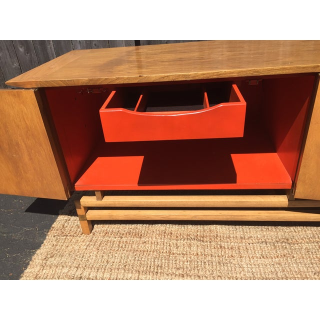 Vintage Mid-Century Chinoiserie Buffet - Image 6 of 6