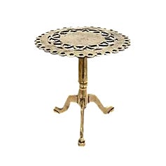 Antique Brass Trivet/Pastry Stand For Sale