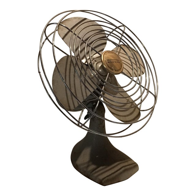 Vintage Manning Bowman Electric Table Fan - Image 1 of 6