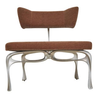 Jordan Mozer Prototype Victory Lounge Chair from Artists Collection For Sale