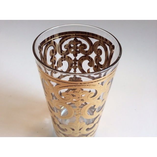 Signed Georges Briard 1960 Spanish Scroll Tumblers - Image 6 of 7