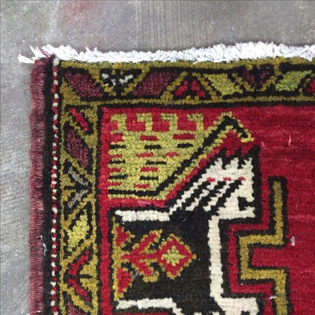 Anatolian Persian Rug - 1′7″ × 3′1″ - Image 7 of 7