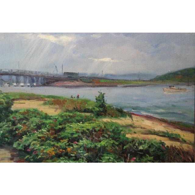 Caddell Martha's Vineyard Scene Painting For Sale In New York - Image 6 of 8