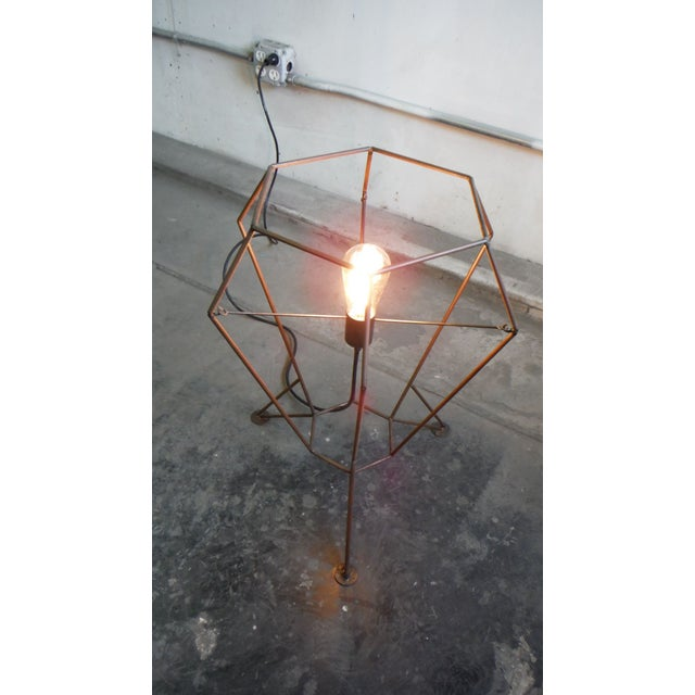Contemporary Steel Rod V1 Table Lamp For Sale - Image 3 of 6