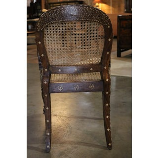 Wood and Bone Inlay Armchair Preview