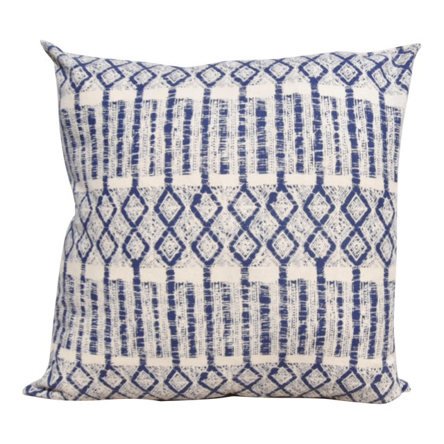 "Batik Hmong Pillow - 24"" x 24"" For Sale"