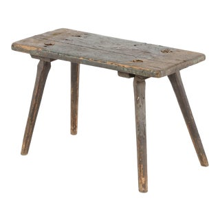 19th Century American Primitive Table For Sale
