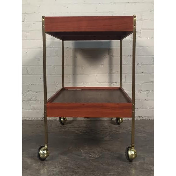 Mid-Century Modern Salton Hot Tray Cart For Sale - Image 5 of 9
