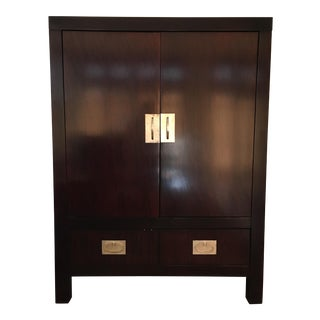 Hickory Chair Wooden Armoire