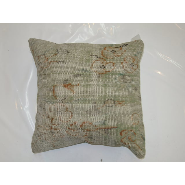 Worn Rug Pillow Cushion - Image 2 of 3
