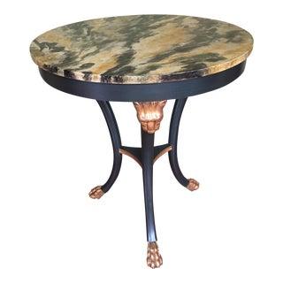 Baker Regency Style Side Table For Sale