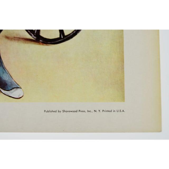 "Tsuguharu Foujita ""Little Cavalier"" Mid-Century Print For Sale - Image 4 of 10"