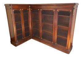 Image of Corner Bookcases