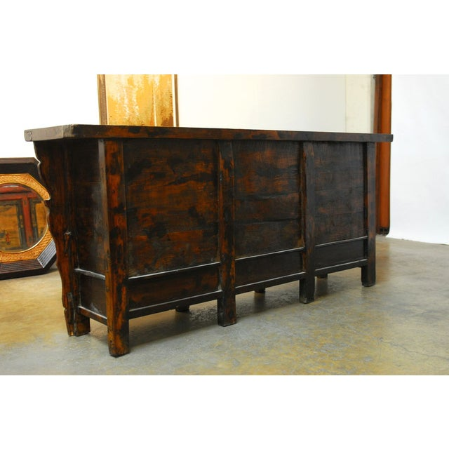 19th Century Chinese Server Sideboard Buffet For Sale - Image 9 of 9