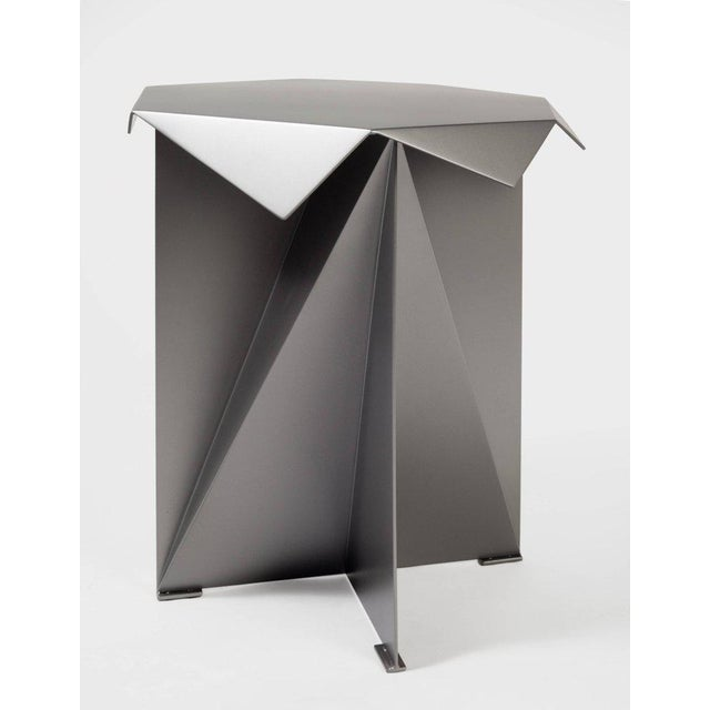 Harry Clark One of Two Dart Side Tables by Harry Clark For Sale - Image 4 of 5