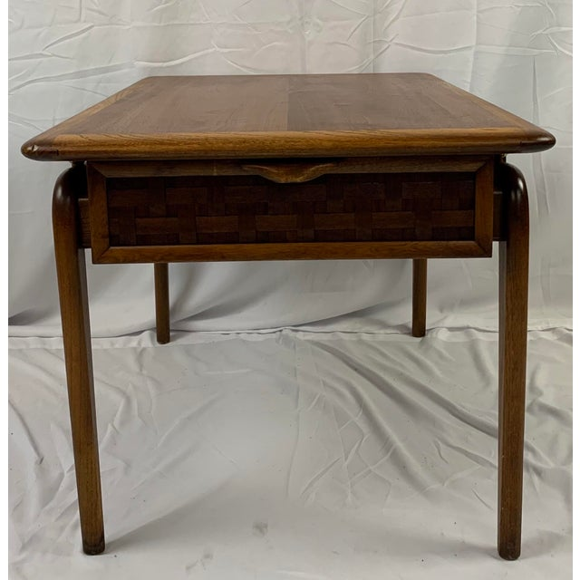 Altavista Lane 1960s Lane Perception Walnut End Table For Sale - Image 4 of 8