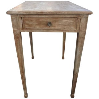 1920s French Louis XVI Style Painted Table For Sale