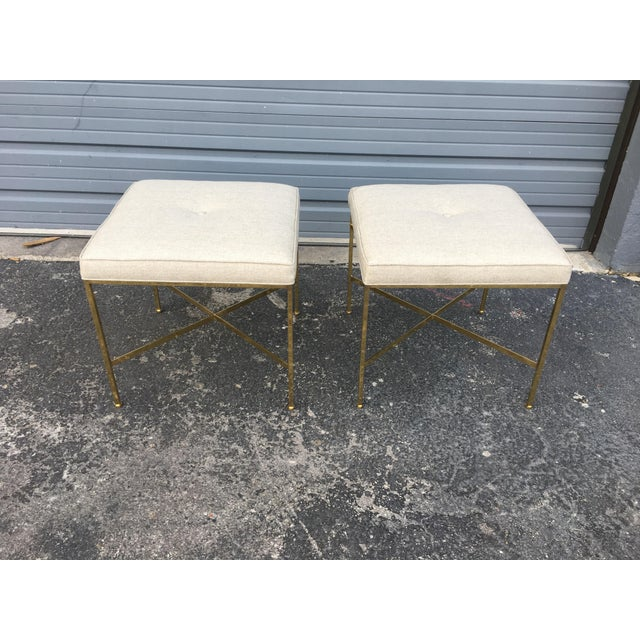 Paul McCobb X-Base Stools - A Pair - Image 2 of 6