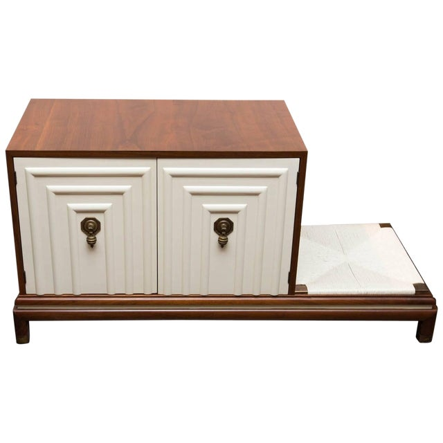 Renzo Rutili Midcentury Cabinet Bench for Johnson Furniture For Sale