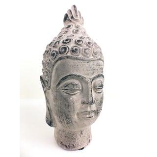 Serene Buddha Bust Sculpture Preview