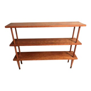Mid-Century Modern Three Tier Bookcase