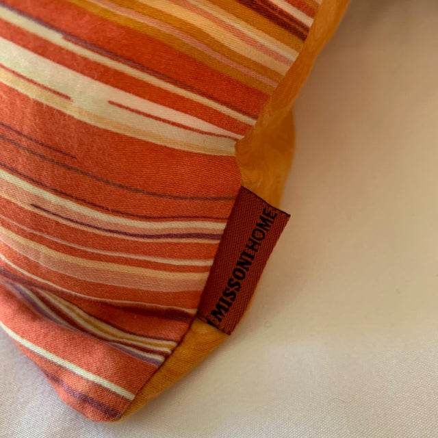 Textile Missoni Home Large Decorative Pillows - Pair For Sale - Image 7 of 10