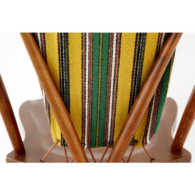 Blue Set of Koppel Chairs for Slagelse Møbelvaerk For Sale - Image 8 of 9
