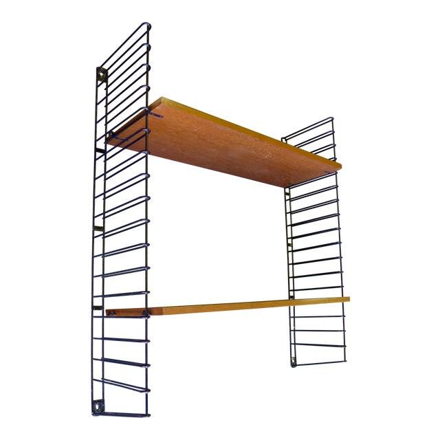Mid-Century Modern String Shelving Unit - Image 1 of 6