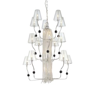 Contemporary Chandelier by George Kovacs - Two Available