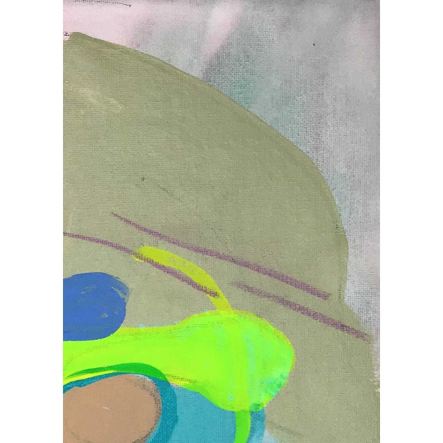 "Early 21st Century Contemporary Abstract Portrait Painting ""Let's Have Some Fun, No. 3"" For Sale - Image 5 of 7"