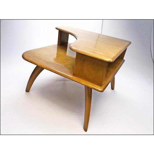 Heywood Wakefield Mid Century Coffee Table End Tables: Mid Century Modern Heywood Wakefield Corner Table