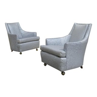 Mid Century Modern Lounge Chairs- A Pair