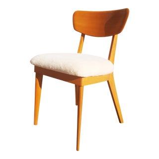Vintage Mid-Century Heywood Wakefield Single Chair For Sale
