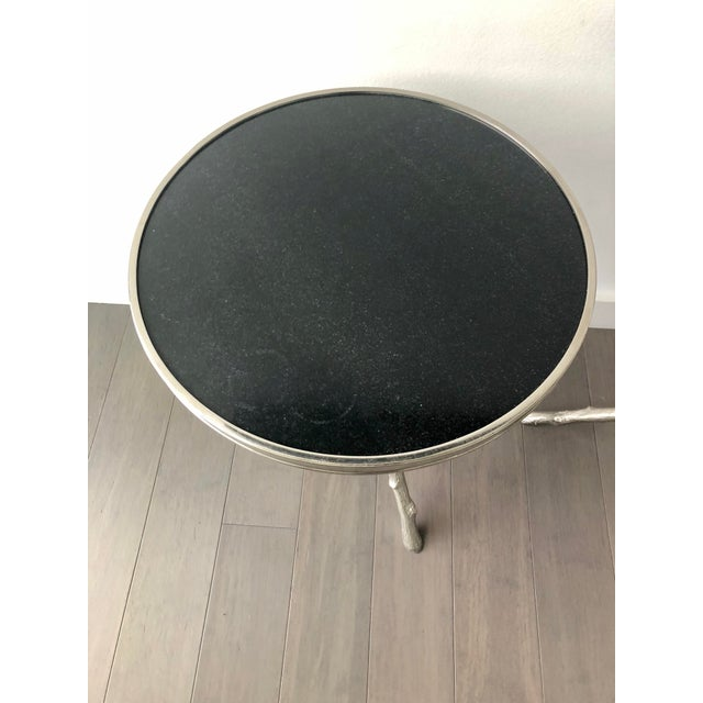 This pair of end tables is perfect for setting a drink down. Fits well with multiple design aesthetics. These are solid...