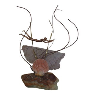 Curtis Jere' Tropical Sculpture For Sale