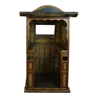 1910s Vintage Chinese Sedan Chair For Sale