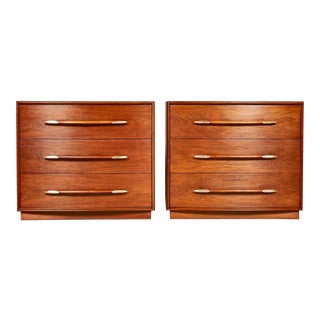 1950s Chest of Drawers by Widdicomb, Pair For Sale