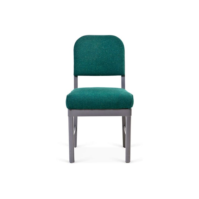 Vintage Industrial Harter Steel Chair I - Image 2 of 5